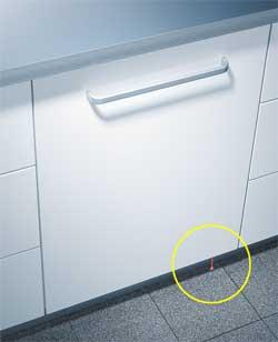 на полу посудомоечная машина фото луч