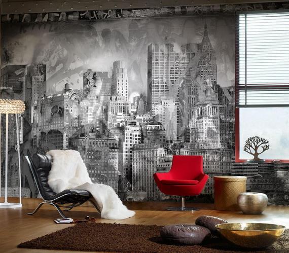 Комната для подростка дизайн обои фото