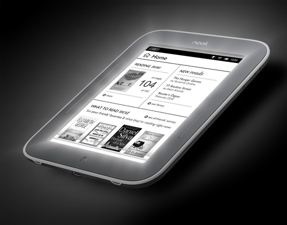 Barnes&Noble NOOK Simple Touch with GlowLight