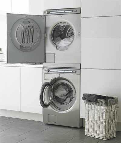- Lavadora y secadora en columna ...
